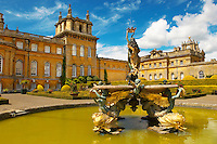 Blenheim Palace  Italian Garden and Fountain - England