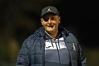 Redbridge manager George Christou during Redbridge vs Ilford, Essex Senior League Football at Oakside Stadium on 15th October 2021