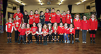 St David's Day, Year 4, at Newton Primary School in Swansea, Wales, UK. Wednesday 01 March 2017