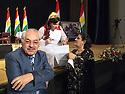 Iraq 2012 <br /> In Erbil, at the conference of the Republic of Mahabad,  left, Failak Eddin Kakai<br /> Irak 2012<br /> A Erbil, a la conference de la Republique de Mahabad, a gauche, Failak Eddin Kakai