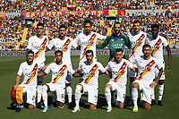 AS Roma team photo line up <br /> Lecce 29/09/2019 Stadio Via del Mare <br /> Football Serie A 2019/2020 <br /> US Lecce - AS Roma <br /> Photo Gino Mancini / Insidefoto