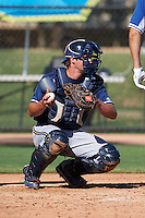 Milwaukee Brewers Beau Wallace (29) during an instructional league game against the Los Angeles Dodgers on October 13, 2015 at Cameblack Ranch in Glendale, Arizona.  (Mike Janes/Four Seam Images)
