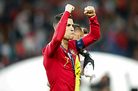 Cristiano Ronaldo of Portugal celebrates after the UEFA Nations League Final match between Portugal and Netherlands at Estadio do Dragao on June 9th 2019 in Porto, Portugal. (Photo by Daniel Chesterton/phcimages.com)<br /> Finale <br /> Portogallo Olanda<br /> Photo PHC/Insidefoto <br /> ITALY ONLY