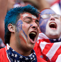 USA Fan. The USMNT defeated Turkey, 2-1, at Lincoln Financial Field in Philadelphia, PA.
