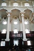Nicholas Hawksmoor: Christ Church, Spitafields. South elevation of nave. Photo '05.