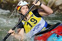 5th September 2021; Parc Olimpic del Segre, La Seu D'Urgell ICF Slalom World Cup, Women's  Extreme Slalom Semi-Finals;  Trompeterc (GER)