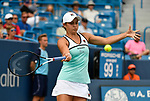 August  16, 2019:  Ashleigh Barty (AUS) defeated Maria Sakkari (GRE) 5-7, 6-2, 6-0, at the Western & Southern Open being played at Lindner Family Tennis Center in Mason, Ohio. ©Leslie Billman/Tennisclix/CSM