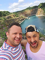 Pictured: Scott Bessant (L) <br /> Re: Dwain Bessant caused £30,000 worth of damage when he set fire to his flat in an effort to end his own life after his brother Scott, was left in a coma.<br /> 43 year old Dwain Bessant caused an explosion at the property in Raglan Close, Talywain, Pontypool, on December 22, 2017, putting his elderly neighbours with mobility issues living below him at risk.<br /> The defendant appeared before a judge at Newport Crown Court where he pleaded guilty to arson being reckless to whether life was endangered.<br /> The court heard that Mr Bessant's younger brother Scott, was left in a coma and unable to walk and talk.<br /> The former Wales Dragonhearts rugby player was found next to a bridge in Pentwyn Lane in Abersychan on August 13 with life changing injuries and he remains in hospital. His family still don't know what happened to him.