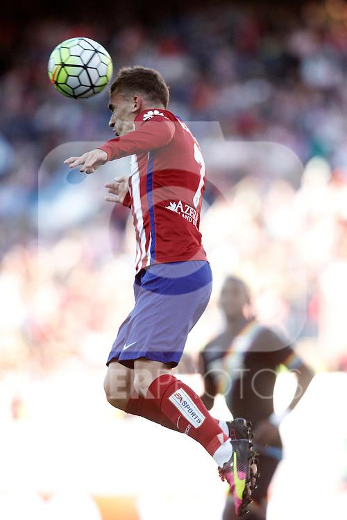Atletico de Madrid's Antoine Griezmann during La Liga match. April 30,2016. (ALTERPHOTOS/Acero)