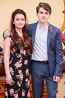 "Madeleine Harris and Samuel Joslin<br /> at the ""Paddington 2"" premiere, NFT South Bank,  London<br /> <br /> <br /> ©Ash Knotek  D3346  05/11/2017"