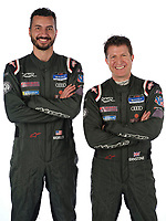 #61 Road Shagger Racing Audi RS3 LMS TCR, TCR: Gavin Ernstone, Jon Morley