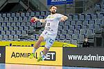 Allein vor dem Tor Lukas Binder (DHfK Leipzig Nr.11) - beim Bundesligaspiel: Rhein Neckar Loewen gegen SC DHfK Handball Leipzig am 15.10.2020 in der SAP-Arena in Mannheim<br /> <br /> Foto © PIX-Sportfotos *** Foto ist honorarpflichtig! *** Auf Anfrage in hoeherer Qualitaet/Aufloesung. Belegexemplar erbeten. Veroeffentlichung ausschliesslich fuer journalistisch-publizistische Zwecke. For editorial use only.