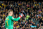 Goalkeeper Marc-Andre Ter Stegen of FC Barcelona reacts during the La Liga 2017-18 match between FC Barcelona and Real Madrid at Camp Nou on May 06 2018 in Barcelona, Spain. Photo by Vicens Gimenez / Power Sport Images