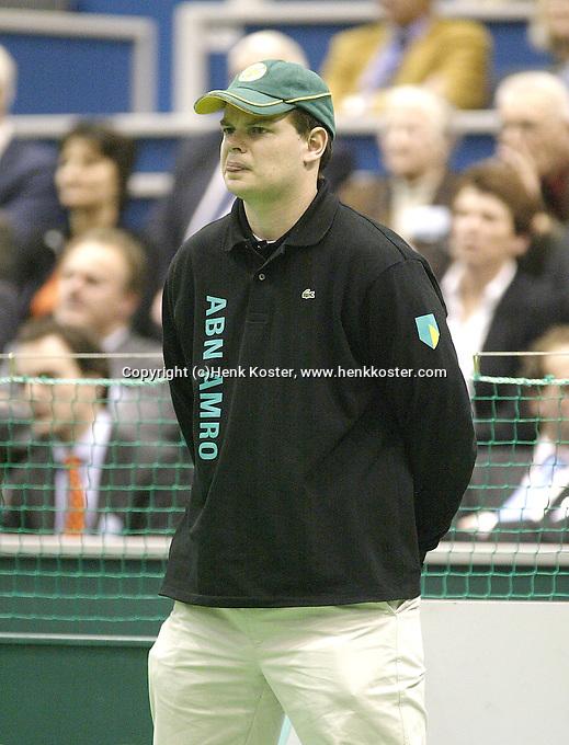 23-2-06, Netherlands, tennis, Rotterdam, ABNAMROWTT,Linesman