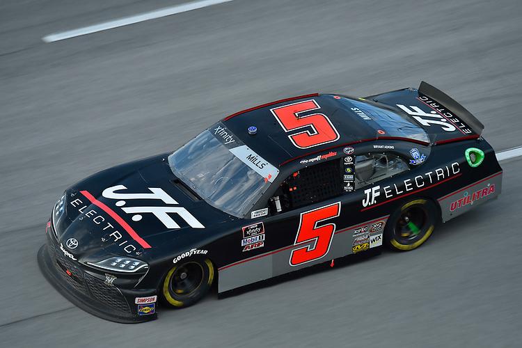 #5: Matt Mills, B.J. McLeod Motorsports, Toyota Supra J.F. Electric