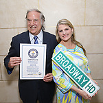Guinness World Record Certificate for BROADWAY HD