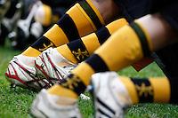 Photo: Richard Lane/Richard Lane Photography. London Wasps v Leicester Tigers. Aviva Premiership. 25/11/2012. Wasps socks.