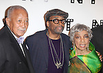 David Dinkins, Spike Lee & Ruby Dee.attending the Woodie King Jr's NFT New Federal Theatre 40th Reunion Gala Benefit in New York City.