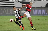 Rio de Janeiro (RJ), 24/03/2021 - Botafogo-Flamengo - Pedro jogador do Flamengo,durante partida contra o Botafogo,válida pela 5ª rodada da Taça Guanabara,realizada no Estádio Nilton Santos (Engenhão), na zona norte do Rio de Janeiro,nesta quarta-feira (24).