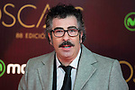 Agustin Jimenez attends to the photocall before the cocktail of the night of the Oscar of Movistar+ at Gran Teatro Principe Pio in Madrid. February 28, 2016. (ALTERPHOTOS/BorjaB.Hojas)