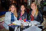 Enjoying the evening in Molly J's on Saturday, l to r: Galina Cotter, Eileena Zabarsqa and Larisa Griggene.