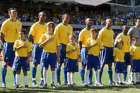Iinternational friendly between the men's national team of Brazil and the USA at Soldier Field, Chicago, IL, on September 09, 2007. Brazil defeated the USA 4-2.