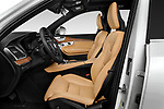 Front seat view of a 2018 Volvo XC90 T8 Twin Engine Plug-in Inscription 5 Door SUV front seat car photos