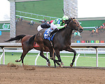 To Be Determined and jockey Rafael Hernandez win Race 8 at Keeneland for owner Ten Broeck Farm and trainer Wesley Ward.