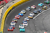 NASCAR Xfinity Series<br /> Hisense 4K TV 300<br /> Charlotte Motor Speedway, Concord, NC USA<br /> Saturday 27 May 2017<br /> Denny Hamlin, Hisense Toyota Camry and Ryan Blaney, Snap-On Ford Mustang<br /> World Copyright: Nigel Kinrade<br /> LAT Images<br /> ref: Digital Image 17CLT2nk06833