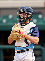 Maclay Marauders Broedy Poppell (3) during practice before the 42nd Annual FACA All-Star Baseball Classic on June 5, 2021 at Joker Marchant Stadium in Lakeland, Florida.  (Mike Janes/Four Seam Images)