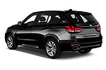 Car pictures of rear three quarter view of a 2018 BMW X5 xDrive40e 4WD 5 Door SUV angular rear
