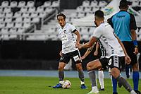 Rio de Janeiro (RJ), 05/07/2020 - Fluminense-Botafogo - Keisuke Honda, do Botafogo. Partida entre Fluminense e Botafogo, válida pela semifinal da Taça Rio, realizada no Estádio Nilton Santos (Engenhão), na zona norte do Rio de Janeiro, neste domingo (05).