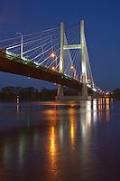 Great River Bridge, Burlington, Iowa, Gulfport, Illinois