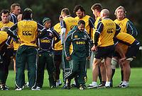 080707 Rugby - Springboks Training