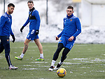 St Johnstone Training...   21.01.21<br />Liam Gordon pictured during training at McDiarmid Park ahead of Saturday's BetFred Cup semi-final against Hibs at Hampden.<br />Picture by Graeme Hart.<br />Copyright Perthshire Picture Agency<br />Tel: 01738 623350  Mobile: 07990 594431