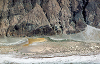 aerial photograph Death Valley National Park, northern Mojave Desert, California