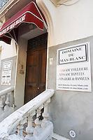 Domaine du Mas Blanc. Banyuls-sur-Mer. Roussillon. A door. France. Europe.