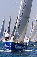 CARD & OIL - CCM  .R.C.N Puerto de Santa Maria  .Dany Cuevas  . Grand Soleil 37 .II Campeonato del Mundo de Vela IMS670 - Agosto 2006 - Real Club Náutico de El Puerto de Santa María