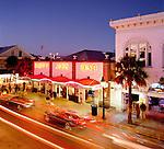 USA, Florida, Key West: Sloppy Joe's Bar along Duvall Street at Night | USA, Florida, Key West, Duval Street: Sloppy Joe's Bar