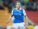 St Johnstone v Partick Thistle…27.01.18…  McDiarmid Park…  SPFL<br />David McMillan<br />Picture by Graeme Hart. <br />Copyright Perthshire Picture Agency<br />Tel: 01738 623350  Mobile: 07990 594431