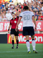 Abby Wambach, Margaret Domka.  The USWNT defeated Brazil, 4-1, at an international friendly at the Florida Citrus Bowl in Orlando, FL.