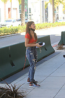 Jenny Popach Steps Out In Beverly Hills