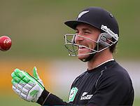 080311 Cricket - Black Caps Training