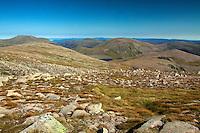 Beinn Mheadhoin and Cairn Gorm from Ben Macdui, Cairngorm National Park, Badenoch & Speyside