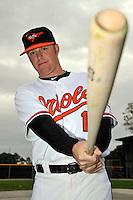 Feb 27, 2010; Tampa, FL, USA; Baltimore Orioles  infielder Justin Tuner (15) during  photoday at Ed Smith Stadium. Mandatory Credit: Tomasso De Rosa