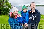 Aoife, Adam, Daniel and Jonathan Horgan enjoying a stroll in the National Park Killarney on Sunday morning