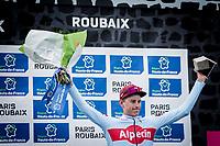 2nd place - Nils Pollit (GER/Katusha Alpecin)<br /> <br /> 117th Paris-Roubaix (1.UWT)<br /> 1 Day Race: Compiègne-Roubaix (257km)<br /> <br /> ©kramon