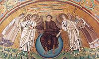 Mosaici nell'abside della Basilica di San Vitale a Ravenna<br /> Mosaics in the apse of the Basilica of San Vitale in Ravenna, with mosaics in apse.<br /> UPDATE IMAGES PRESS/Riccardo De Luca