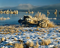 Morning light on the Tufa Towers in Mono Lake, CA