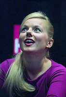 Montreal (Qc) CANADA, September 9, 1999 File Photo -<br /> former Spice Girls member and solo artist Geri Halliwell